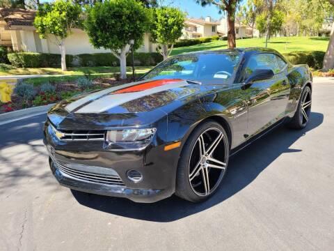 2015 Chevrolet Camaro for sale at E MOTORCARS in Fullerton CA