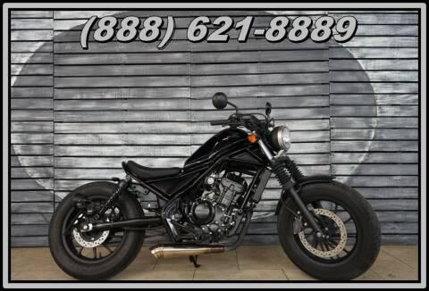 2017 Honda CMX300 Rebel for sale at AZautorv.com in Mesa AZ