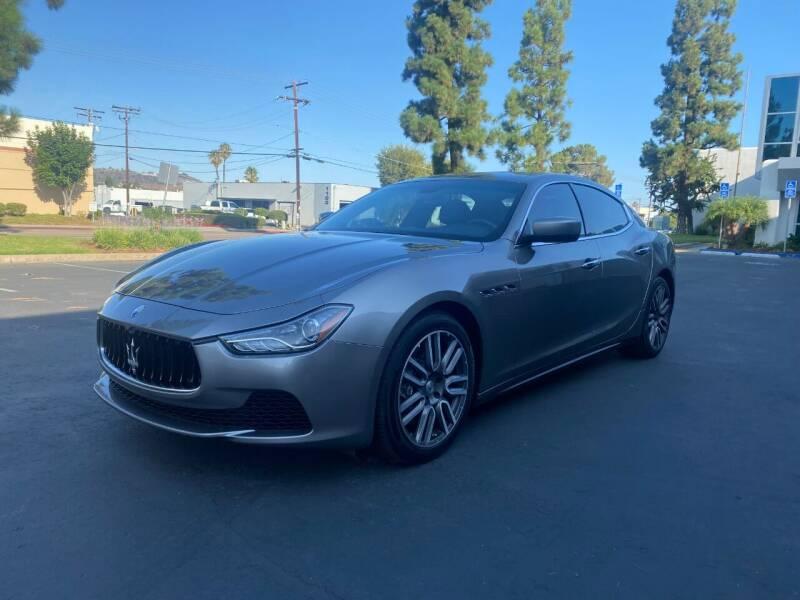 2015 Maserati Ghibli for sale at Ideal Autosales in El Cajon CA