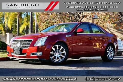 2008 Cadillac CTS for sale at San Diego Motor Cars LLC in San Diego CA