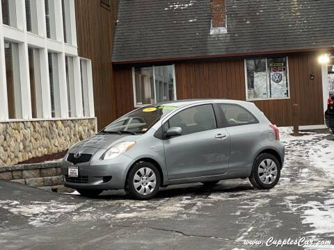 2007 Toyota Yaris for sale at Cupples Car Company in Belmont NH