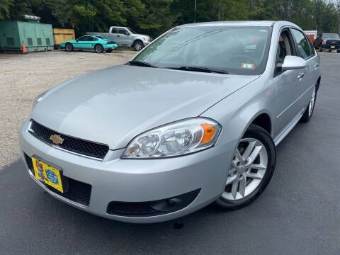 2016 Chevrolet Impala Limited for sale at Granite Auto Sales in Spofford NH