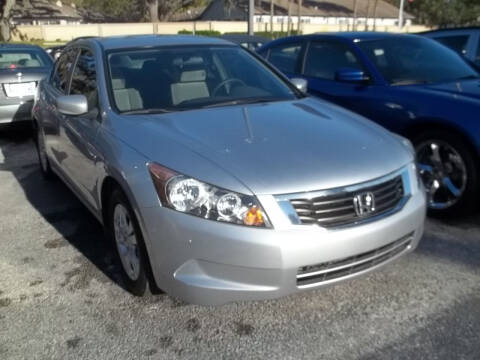 2009 Honda Accord for sale at PJ's Auto World Inc in Clearwater FL