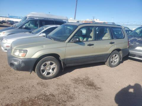 2004 Subaru Forester for sale at PYRAMID MOTORS - Fountain Lot in Fountain CO