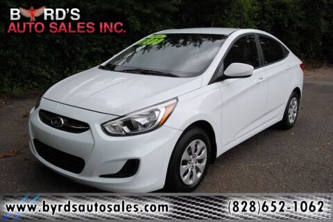 2016 Hyundai Accent for sale at Byrds Auto Sales in Marion NC