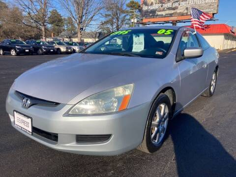 2005 Honda Accord for sale at EXPRESS AUTO SALES in Midlothian VA