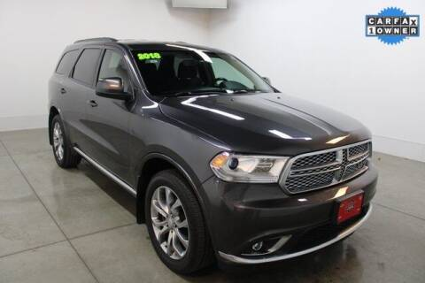2018 Dodge Durango for sale at Bob Clapper Automotive, Inc in Janesville WI