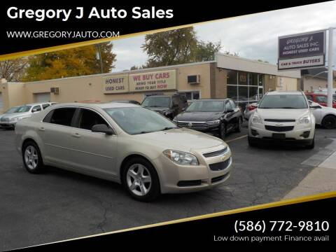 2012 Chevrolet Malibu for sale at Gregory J Auto Sales in Roseville MI