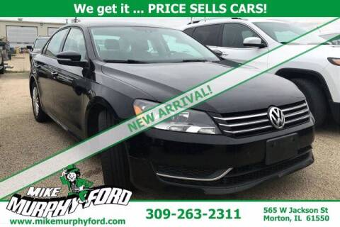 2015 Volkswagen Passat for sale at Mike Murphy Ford in Morton IL