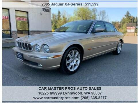 2005 Jaguar XJ-Series for sale at CAR MASTER PROS AUTO SALES in Lynnwood WA