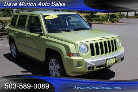 2010 Jeep Patriot for sale at Dave Morton Auto Sales in Salem OR