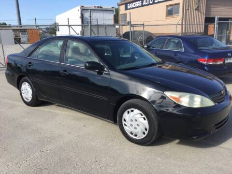 2002 Toyota Camry for sale at Sanders Auto Sales in Lincoln NE