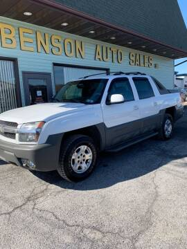 2002 Chevrolet Avalanche for sale at Superior Auto Sales in Duncansville PA