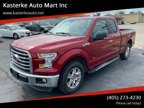 2016 Ford F-150 for sale at Kasterke Auto Mart Inc in Shawnee OK