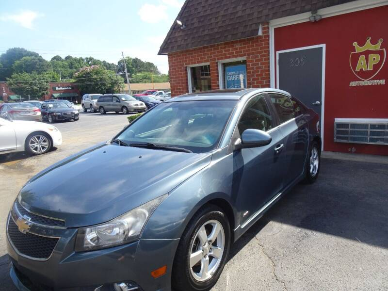 2012 Chevrolet Cruze for sale at AP Automotive in Cary NC