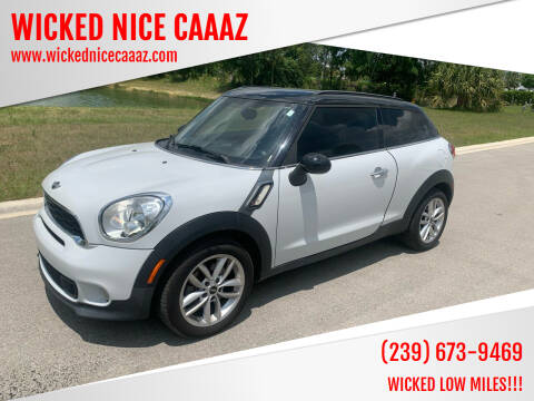 2013 MINI Paceman for sale at WICKED NICE CAAAZ in Cape Coral FL