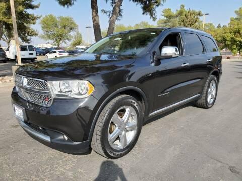 2011 Dodge Durango for sale at Matador Motors in Sacramento CA