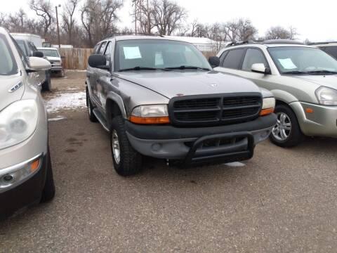 1999 Dodge Durango for sale at L & J Motors in Mandan ND