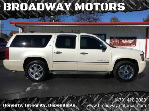 2010 Chevrolet Suburban for sale at BROADWAY MOTORS in Van Buren AR