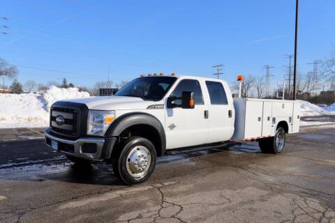 2012 Ford F-550 Super Duty for sale at Siglers Auto Center in Skokie IL