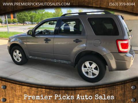 2010 Ford Escape for sale at Premier Picks Auto Sales in Bettendorf IA
