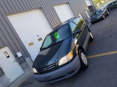 2003 Toyota Sienna for sale at Car-Nation Enterprises Inc in Ashland MA