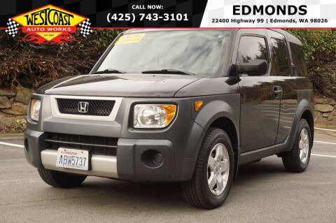 2003 Honda Element for sale at West Coast Auto Works in Edmonds WA