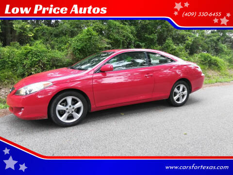 2006 Toyota Camry Solara for sale at Low Price Autos in Beaumont TX