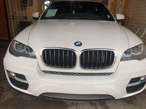2013 BMW X6 for sale at FAIR DEAL AUTO SALES INC in Houston TX