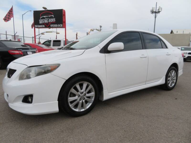 2010 Toyota Corolla for sale at Moving Rides in El Paso TX