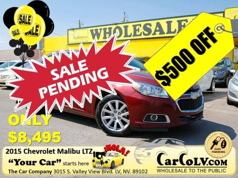 2015 Chevrolet Malibu for sale at The Car Company in Las Vegas NV