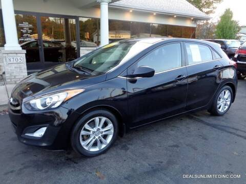 2014 Hyundai Elantra GT for sale at DEALS UNLIMITED INC in Portage MI