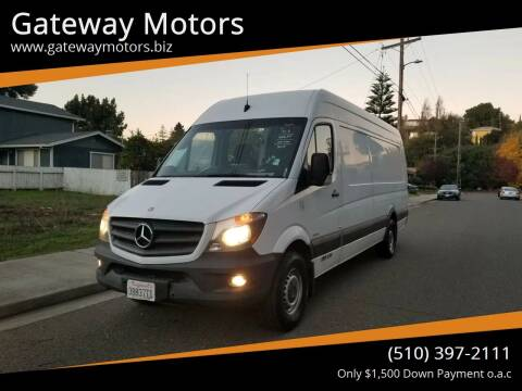 2015 Mercedes-Benz Sprinter Cargo for sale at Gateway Motors in Hayward CA