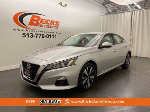 2019 Nissan Altima for sale at Becks Auto Group in Mason OH