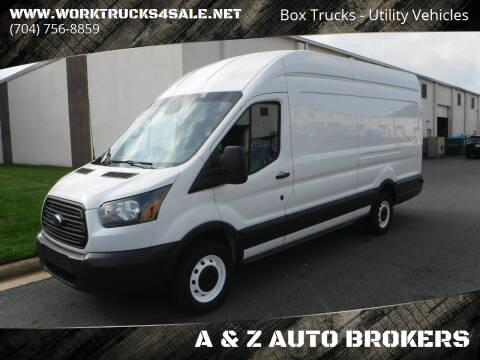 2015 Ford Transit Cargo for sale at A & Z AUTO BROKERS in Charlotte NC
