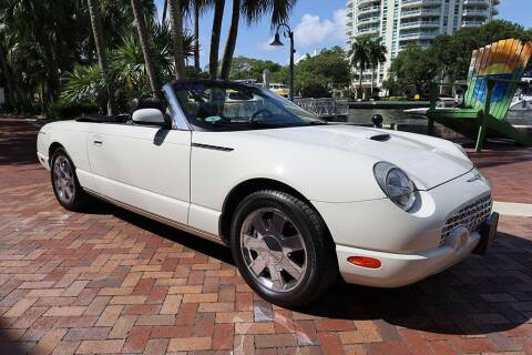 2002 Ford Thunderbird for sale at Choice Auto in Fort Lauderdale FL