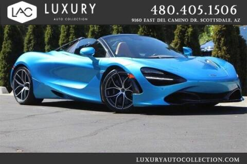 2020 McLaren 720S Spider for sale at Luxury Auto Collection in Scottsdale AZ