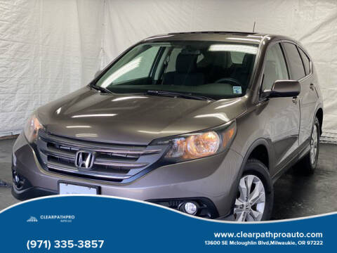 2013 Honda CR-V for sale at CLEARPATHPRO AUTO in Milwaukie OR