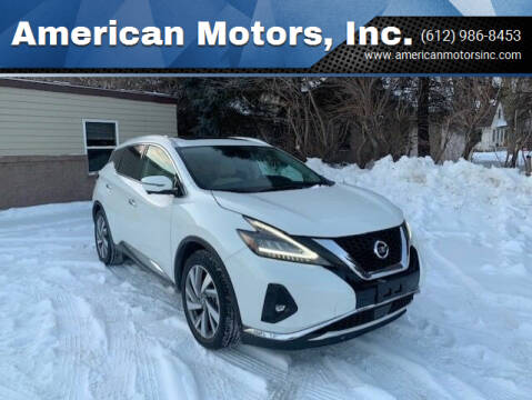 2019 Nissan Murano for sale at American Motors, Inc. in Farmington MN