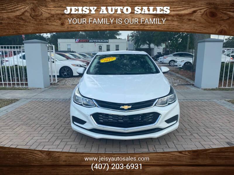 2017 Chevrolet Cruze for sale at JEISY AUTO SALES in Orlando FL