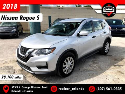 2018 Nissan Rogue for sale at Real Car Sales in Orlando FL