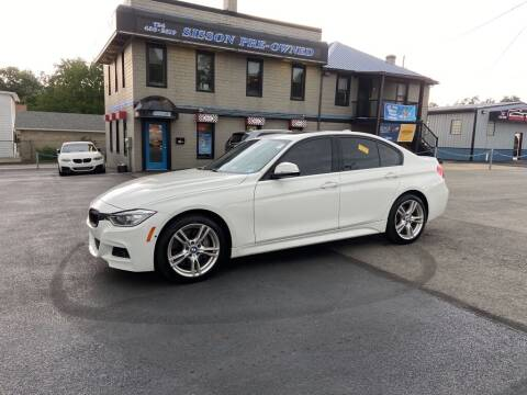 2015 BMW 3 Series for sale at Sisson Pre-Owned in Uniontown PA