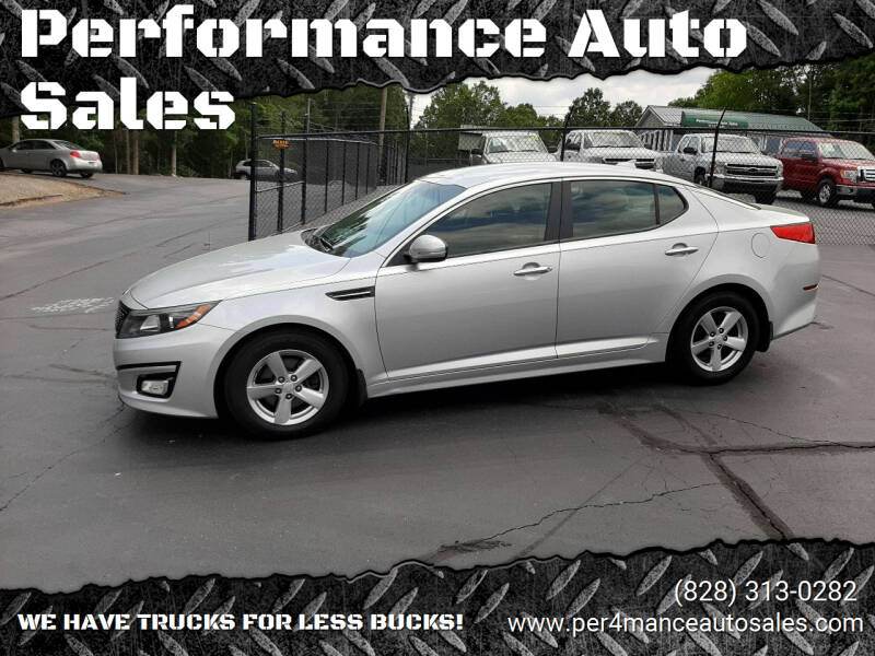 2015 Kia Optima for sale at Performance Auto Sales in Hickory NC