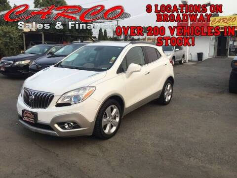 2015 Buick Encore for sale at CARCO SALES & FINANCE #2 in Chula Vista CA