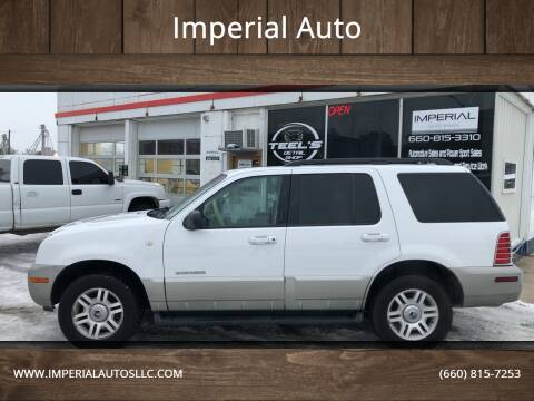 2002 Mercury Mountaineer for sale at Imperial Auto of Marshall in Marshall MO