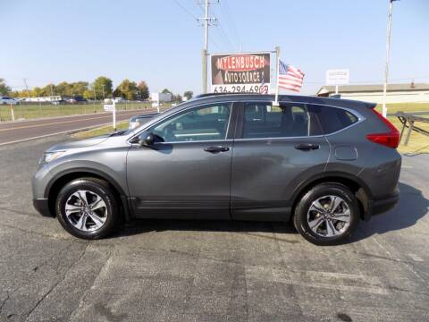 2018 Honda CR-V for sale at MYLENBUSCH AUTO SOURCE in O` Fallon MO