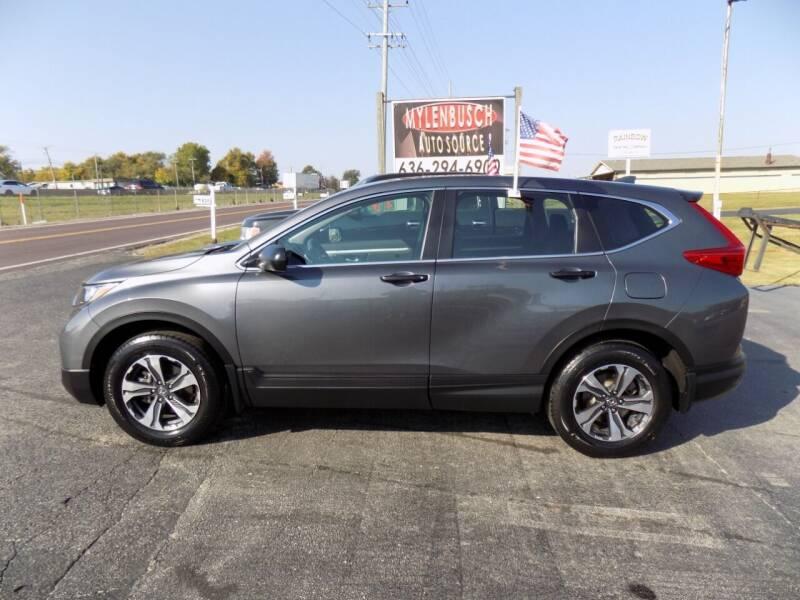 2018 Honda CR-V for sale at MYLENBUSCH AUTO SOURCE in O` Fallon MO