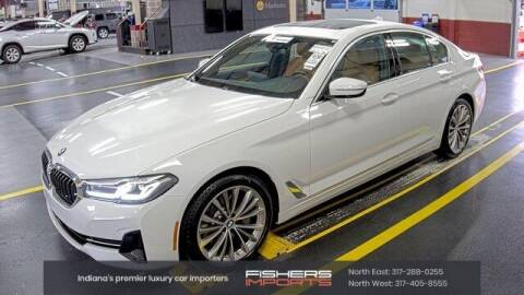 2021 BMW 5 Series for sale at Fishers Imports in Fishers IN