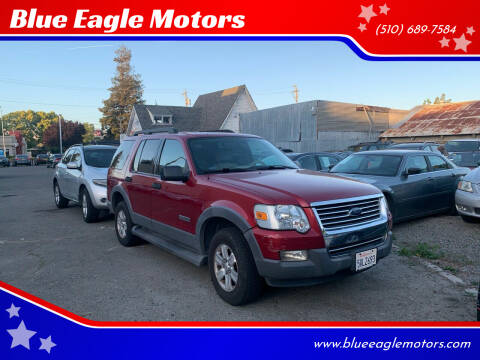 2006 Ford Explorer for sale at Blue Eagle Motors in Fremont CA