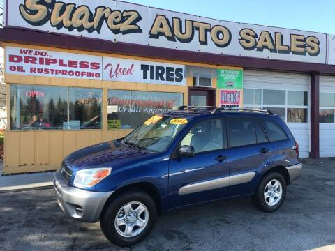 2005 Toyota RAV4 for sale at Suarez Auto Sales in Port Huron MI